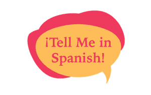 Tell Me In Spanish Logo